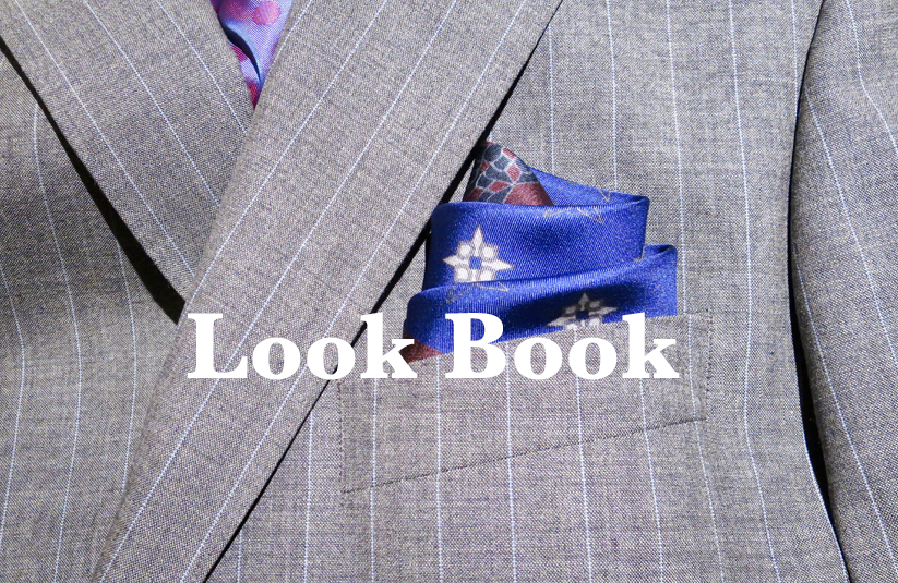 Look book featherstone pocket square