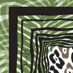 Leopard Jungle detail