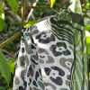 Leopard Jungle styled outdoors