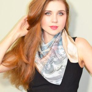Gothic Rose scarf